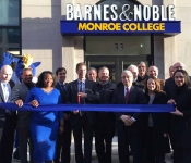 Barnes and Noble at Monroe College - February 2017