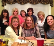 Alicia's Book Club Party - May 9, 2013