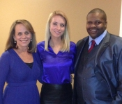Laura Schroff, Kayleigh McEnany and Maurice Mazyck - January 5, 2013
