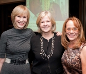 Valerie Salembier, Martha Nelson and Laura Schroff