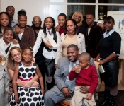 Book Party in New York City (Maurice Mazyck Family)