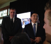 Charity Luncheon hosted by Mr. Chen Guangbiao & New York City Rescue Mission - June 2014