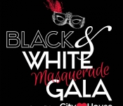 City House Black & White Masquerade Gala