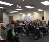 Hauppauge Library (Angels on Earth) - April 2017